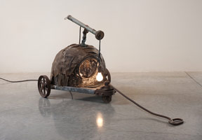 Ed Kienholz - Sleepy's Hollow With Handle and Wheels