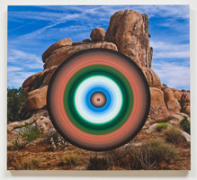 Don Suggs / Sphinx, 2014 / painted on canvas print / 25 x 28 in. (63.5 x 71.1 cm)