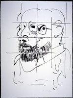 Sidney (After the Polaroid), 1982<BR>