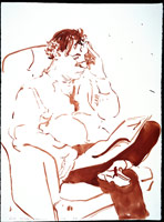 Nick Wilder Reading, 1984<BR>