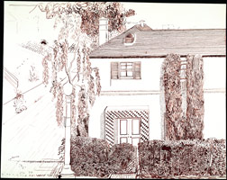 House, Miller Drive, L.A., 1978<BR>