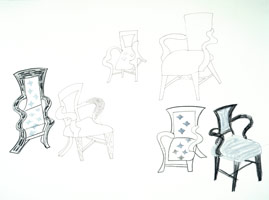 Six Studies of a Chair, 1984<BR>