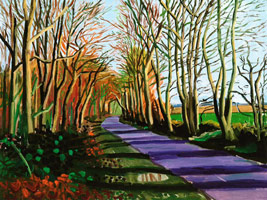 David Hockney Woldgate Crisp Morning, January 2006