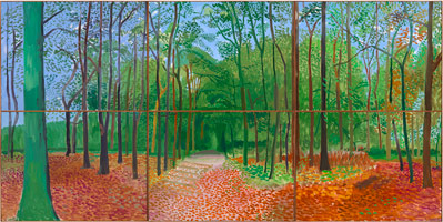 David Hockney Woldgate Woods