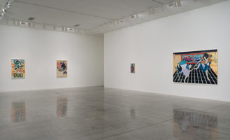 Installation photography, Gajin Fujita: Made in L.A., 13 October 2011 - 12 November 2011