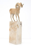 Gwynn Murrill<br>Bighorn Maquette, 2009<br>