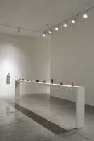 Installation photography<br>Gwynn Murrill: Maquettes