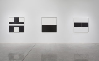 Installation photography, Frederick Hammersley