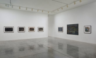 Installation photography, Leon Kossoff: London Landscapes