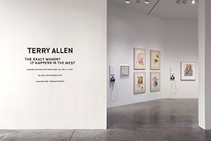 Installation photography, Terry Allen: The Exact Moment It Happens in the West
