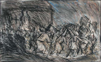From Goya: Procession of Flagellants<br>