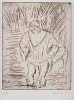 From Rembrandt: A Woman bathing in a Stream<br>