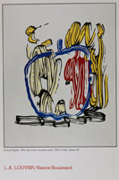 Roy Lichtenstein, Seven Woodcut Prints<BR>announcement