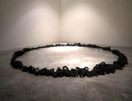 Untitled (ring of chain), 1995<BR>
