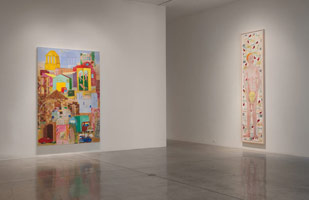 Installation photography, Charles Garabedian: Recent paintings