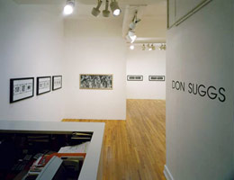 Don Suggs installation photography, 1993
