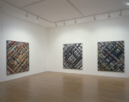 Ed Moses installation photography, 1987