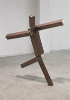 Joel Shapiro<br> untitled, 2008<br> bronze<br> approximately 5 feet<br> Edition 1 of 4<br> (js08-16)