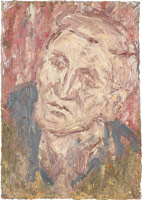 Head of John I, 2005<br>       oil on board<br>       30 3/8 x 21 7/16 in. (77.3 x 54.4 cm)<br>       Private collection