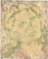 Head of Peggy III, 2004 - 2005<br>       oil on board<br>       21 1/4	x 17 5/16 in. (54 x 44 cm)<br>       Private collection