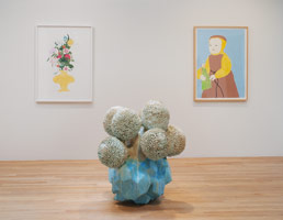 Installation photography, Matt Wedel: Child flower tree landscape