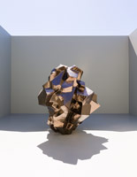 Matt Wedel<br> Rock, 2013<br> ceramic<br> 65 x 56 x 54 in. (165.1 x 142.2 x 137.2 cm)