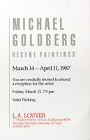Michael Goldberg announcement, 1987