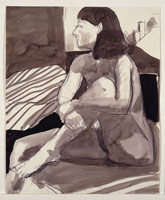 Richard Diebenkorn<BR>Untitled (#533), c. 1962-66<BR>pencil and ink wash on paper<BR>17 x 14 in.