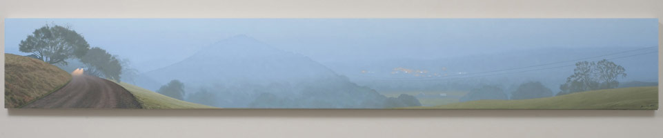 Winter Fog on Peachland Road, 2008 - 2010<BR>