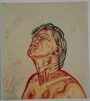 Self Portrait (PC925), 1992<BR>