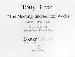 Tony Bevan announcement, 1993