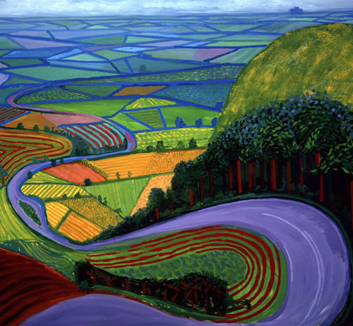 David Hockney: Looking at Landscape / Being in Landscape