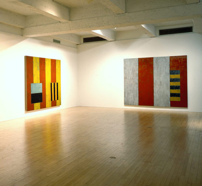 Ed Moses, Gerhard Richter, Sean Scully