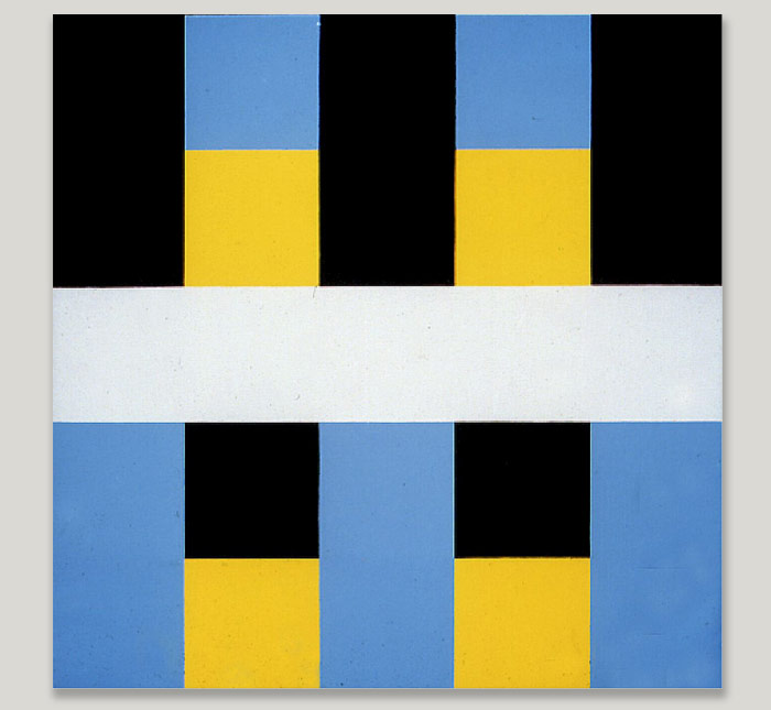 Frederick Hammersley: Hard-Edged Paintings
