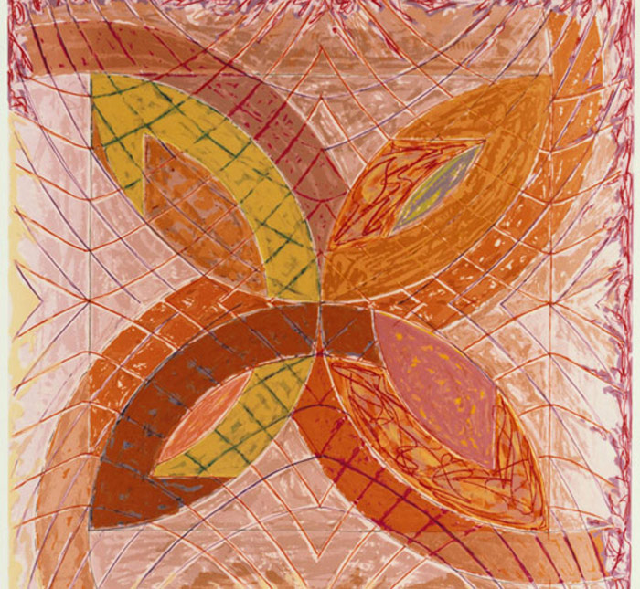 Frank Stella: Polar Coordinates for Ronnie Peterson