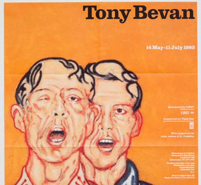Tony Bevan: The Meeting