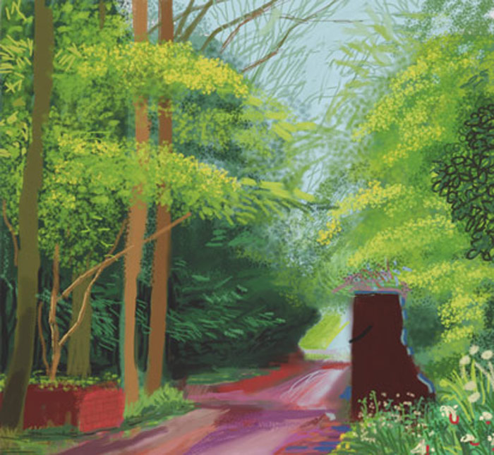 David Hockney: The Arrival of Spring