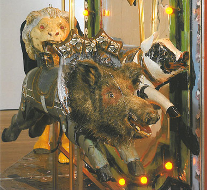Kienholz: The Merry-Go-World Or Begat By Chance & The Wonder Horse Trigger