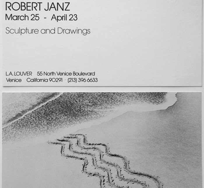 Robert Janz: Sculpture & Drawings